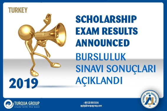 ISTANBUL AREL UNIVERSITY INTERNATIONAL SCHOLARSHIP EXAM TURKEY RESULTS